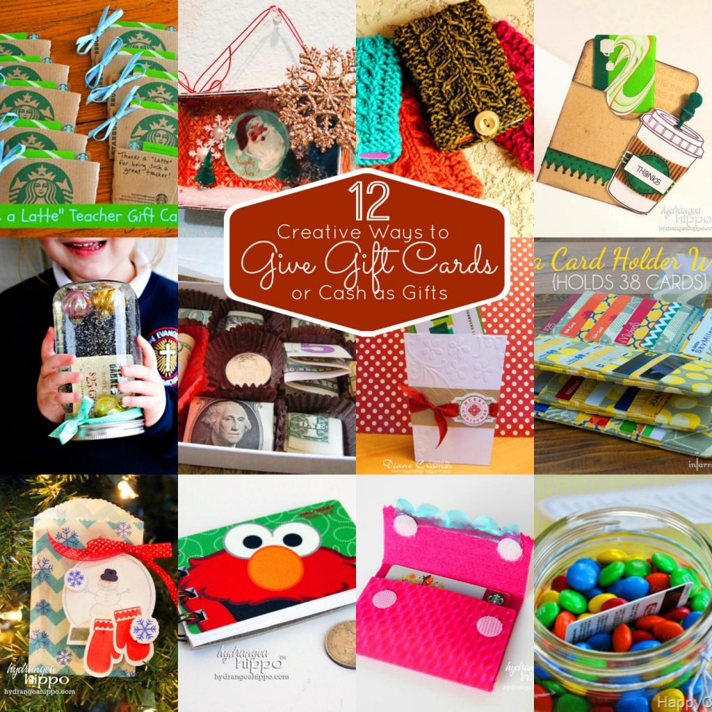 120 Creative Ways To Give Gift Cards Or Money Gifts | Smart Fun DIY