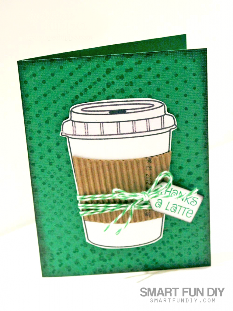 This Gift Card Holder Is Coffee Themed But You Can Make It However Like