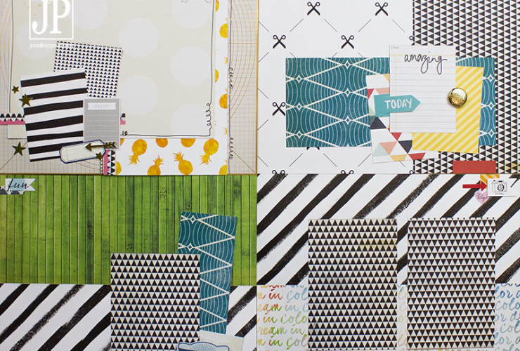 Scrap Free Scrapbooking Preview and a Paper Issues + Tombow Hop