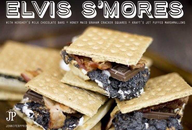 Make Gourmet Elvis S'Mores as a Weeknight Dessert