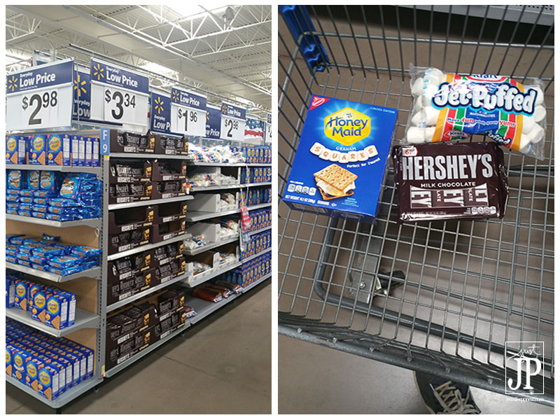 Find Smores Ingredients at Walmart - Hersheys Milk Chocolate JPriest