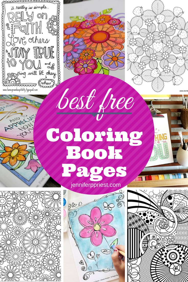 Coloring book pages from photos