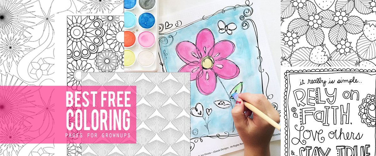 Best Free Coloring Book Pages