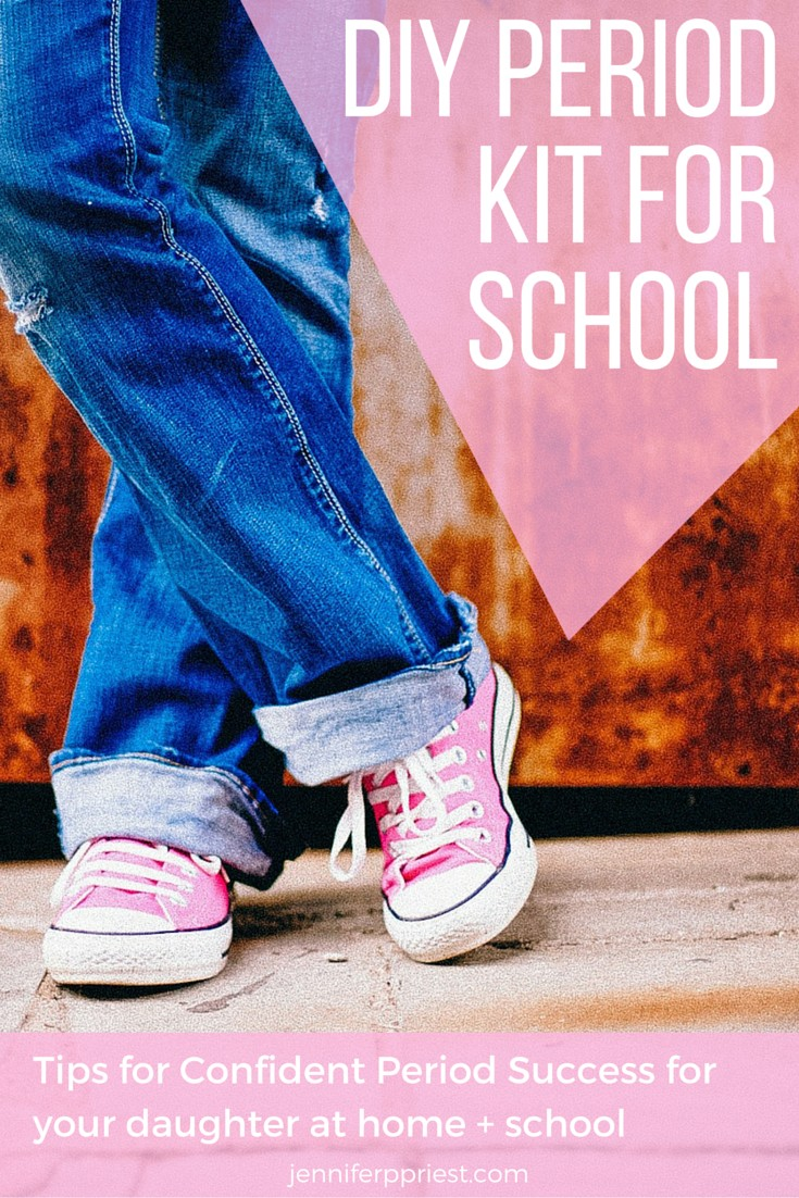 diy period kitfor school