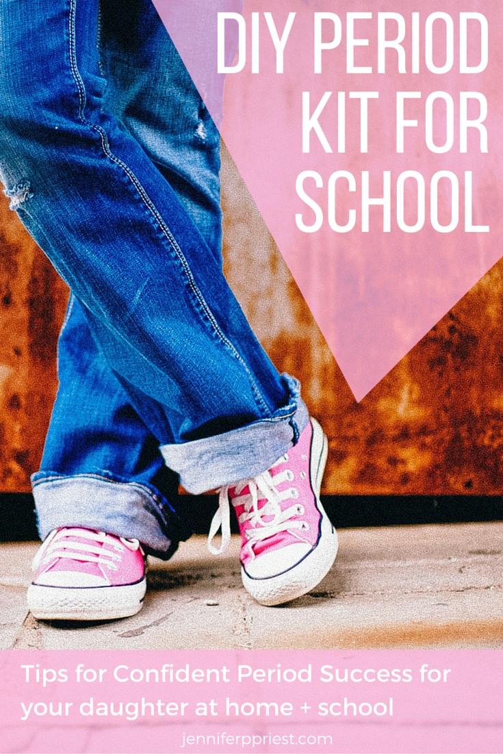 diy period kitfor school