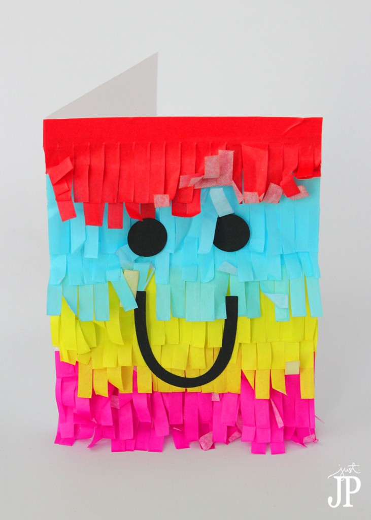 Pinata-Card-Just-Smile---JPriest-for-Tombow