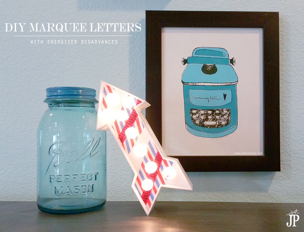 DIY-Marquee-Letters-with-Washi-Tape-and-Energizer-EcoAdvanced-Batteries-at-Target-JPriest