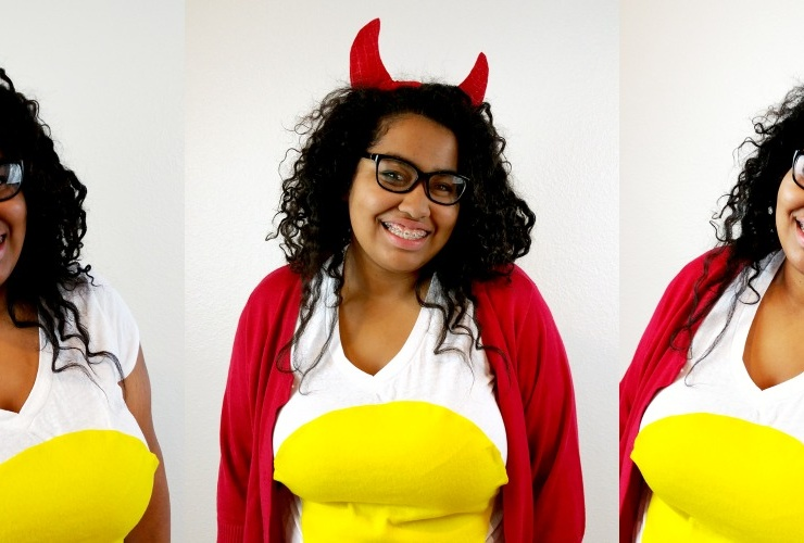 Last Minute Costume Idea – DIY Deviled Egg Costume #JPHalloween