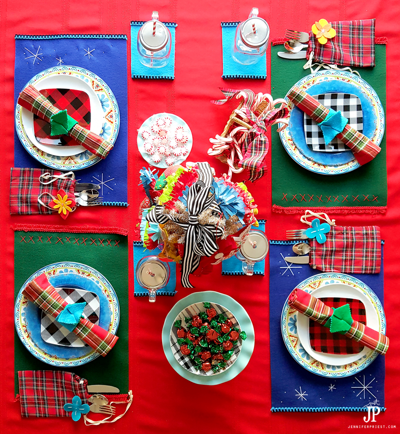 DIY-Folk-Art-Latin-Christmas-Table-Place-Setting-JPriest