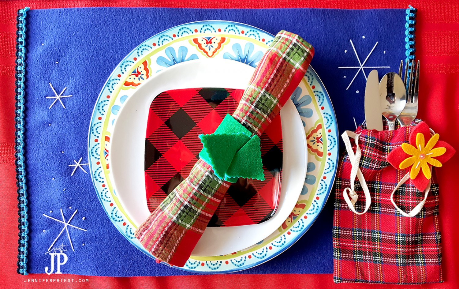 DIY-Place-Setting-Blended-Culture-Latino-Folk-Art-Christmas-Table-Jpriest