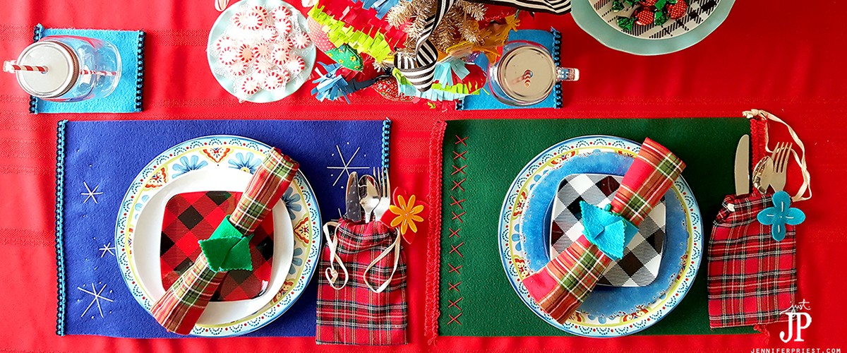 How To Set Up A Festive Christmas Table On A Budget With