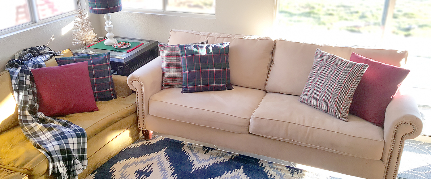 Diy Plaid Pillow Covers Mad For Plaid Plaid Smartfundiy