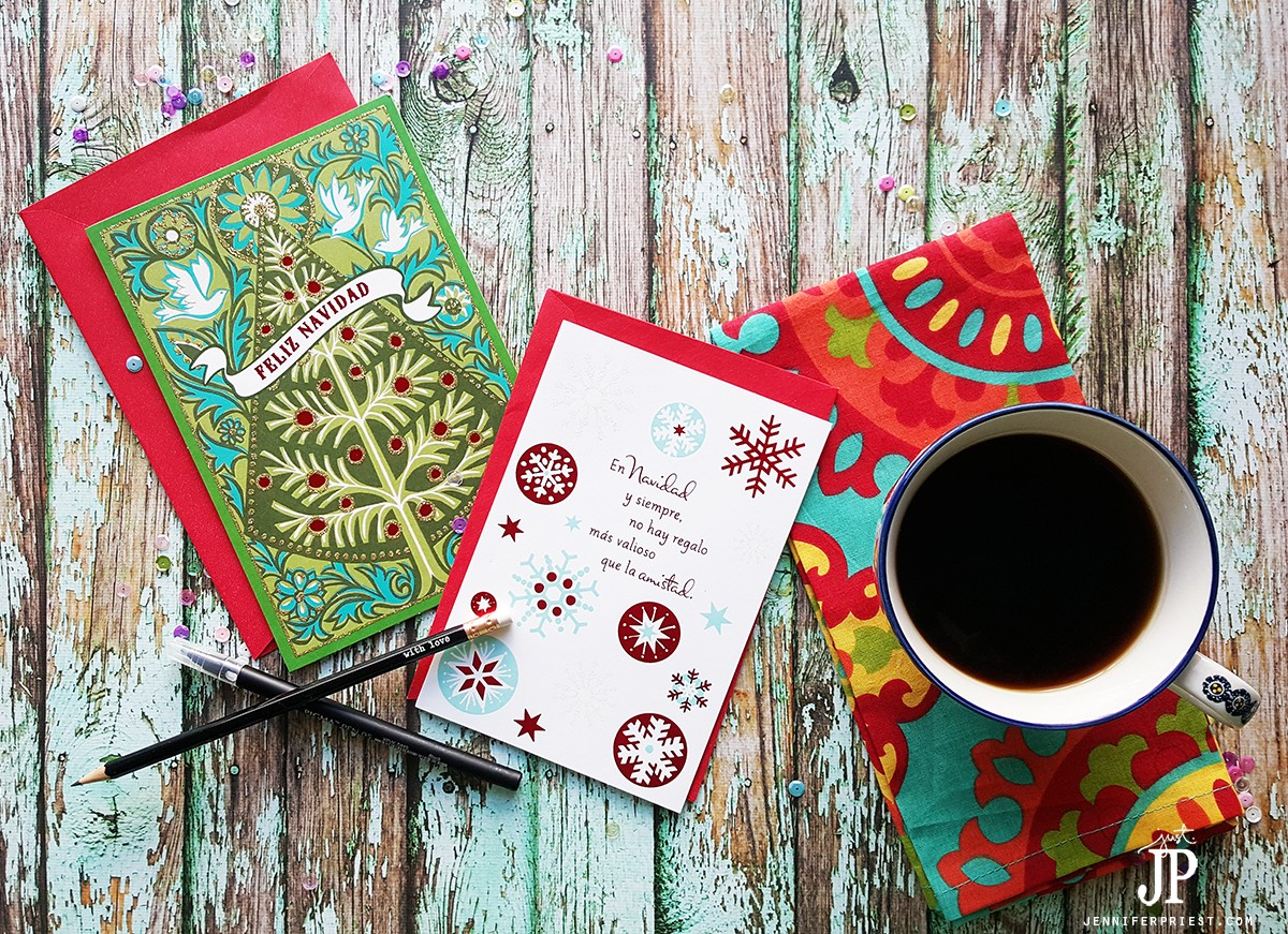 Spanish Christmas Cards from Hallmark for the Holidays