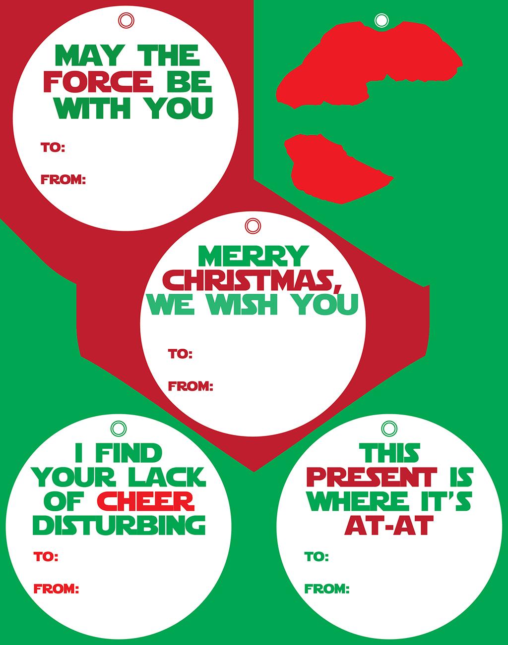 Star Wars Printable Gift Tags - Printing the Holidays Blog Hop ...