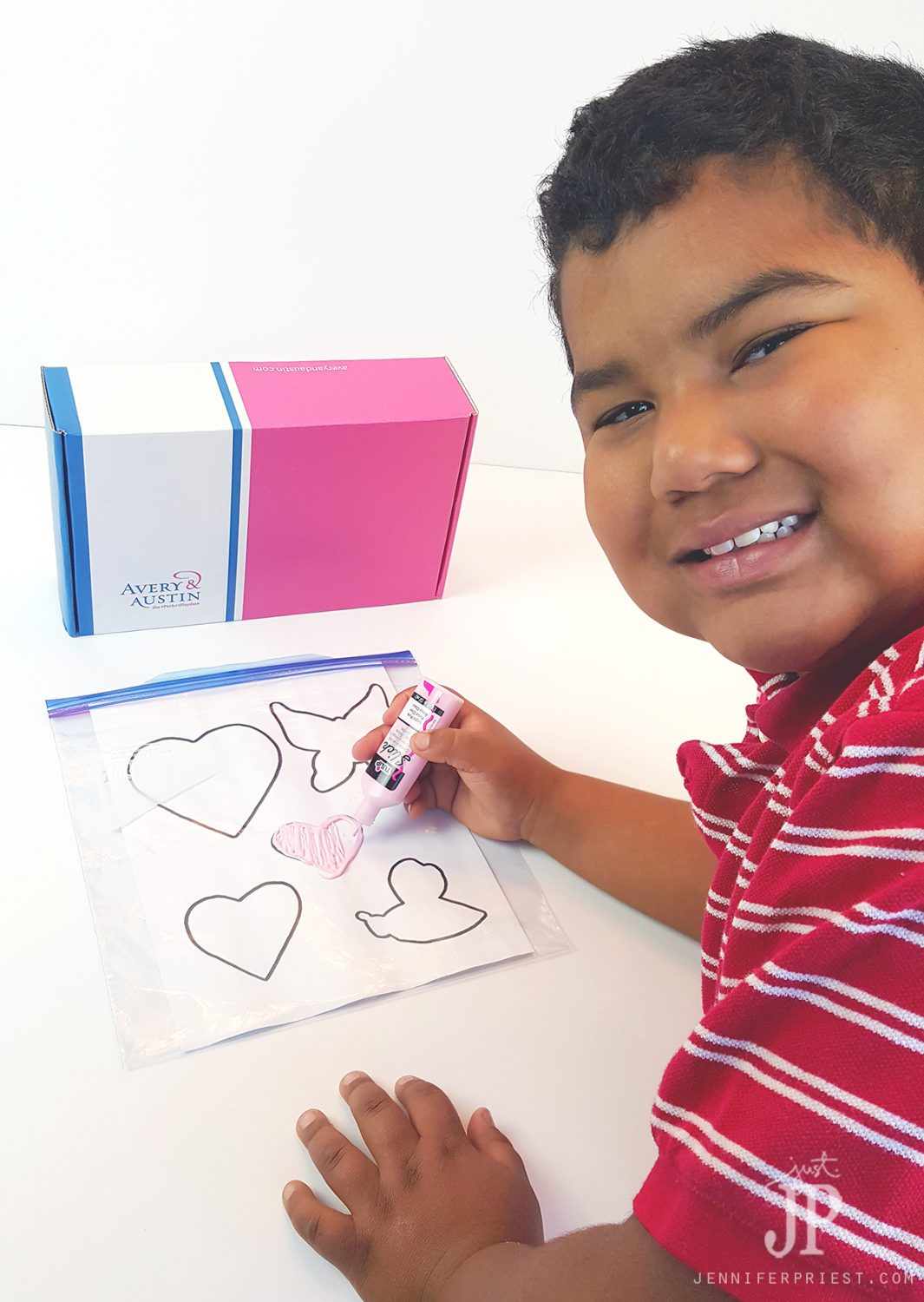 This craft is so fun for kids! How to make window clings with puffy paint and coloring book pages as patterns.