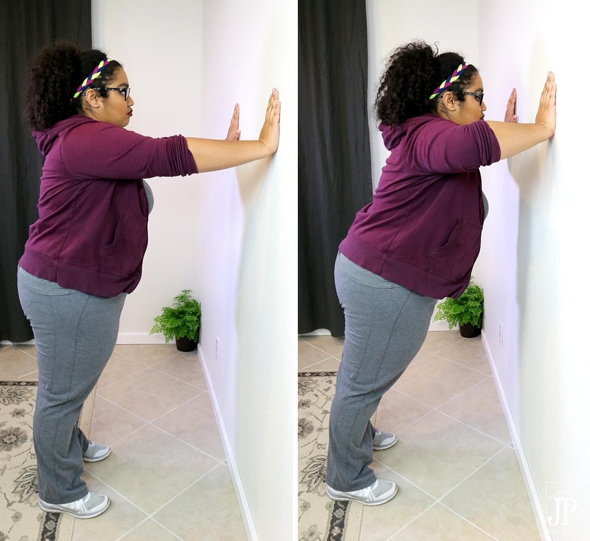 How to do wall pushups