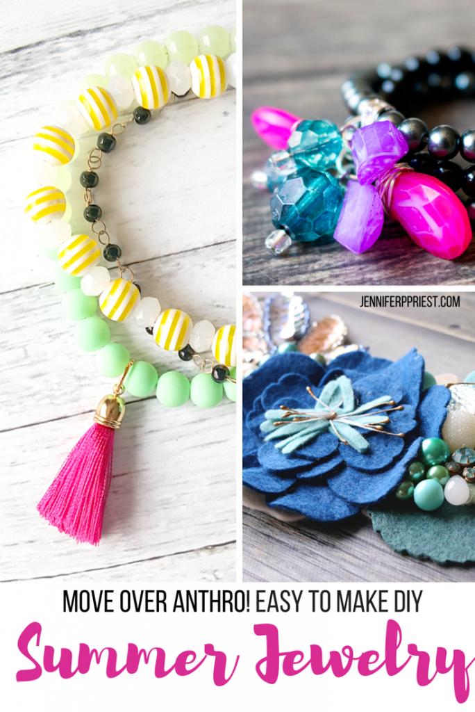 3 summer jewelry DIYs PIN