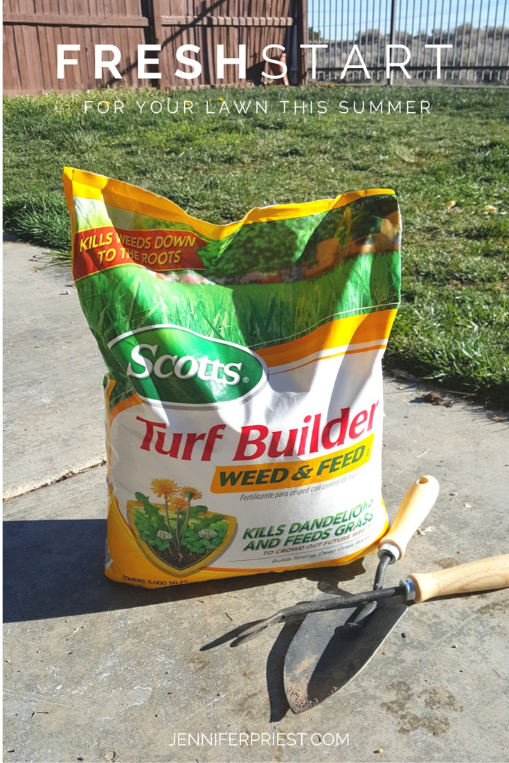 Fresh Start for your Lawn this Summer with Scotts TurfBuilder Weed and Feed Jenniferppriest