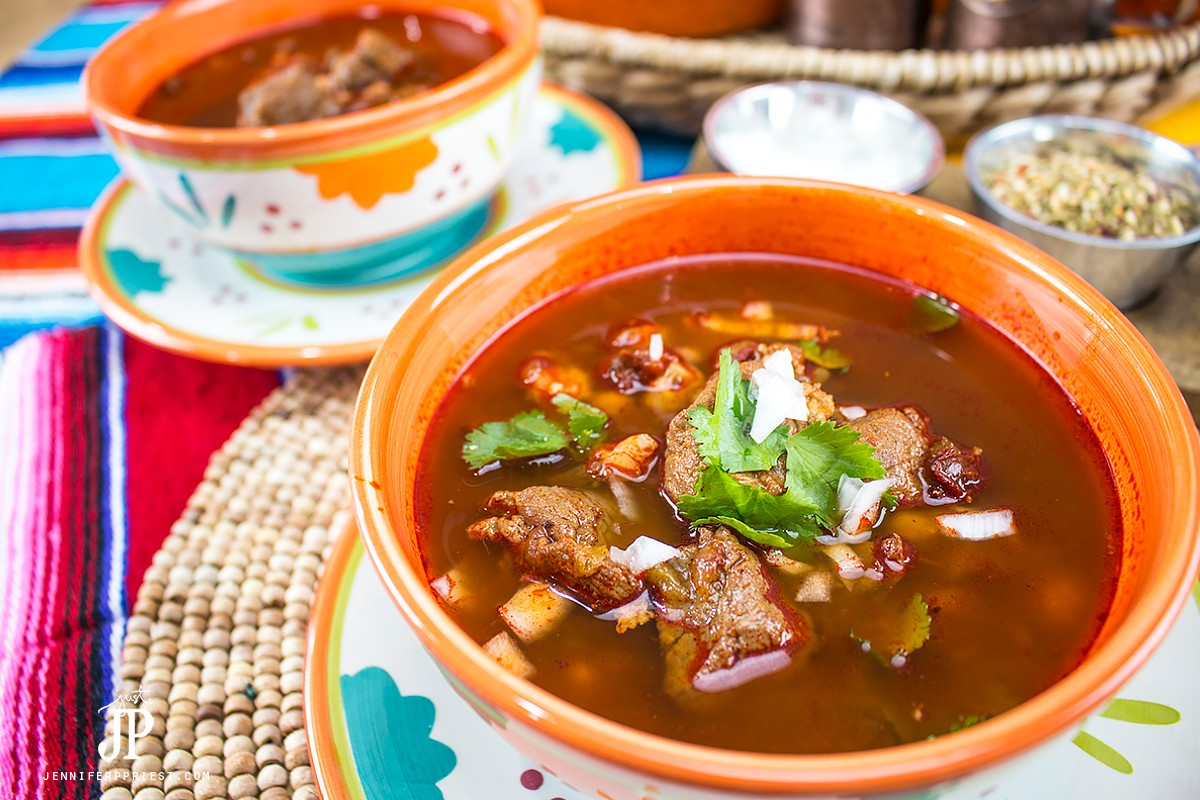 POZOLE RECIPE for Las Posadas - this lasted only one day in my house! I love how this pozole looks in these gorgeous bowls from @JCPenney. Get the recipe and see how to spruce up your home for guests this holiday season: http://www.jenniferppriest.com/?p=19975 #JoyWorthGiving #SoWorthIt #HazValerTusPenneys [AD]