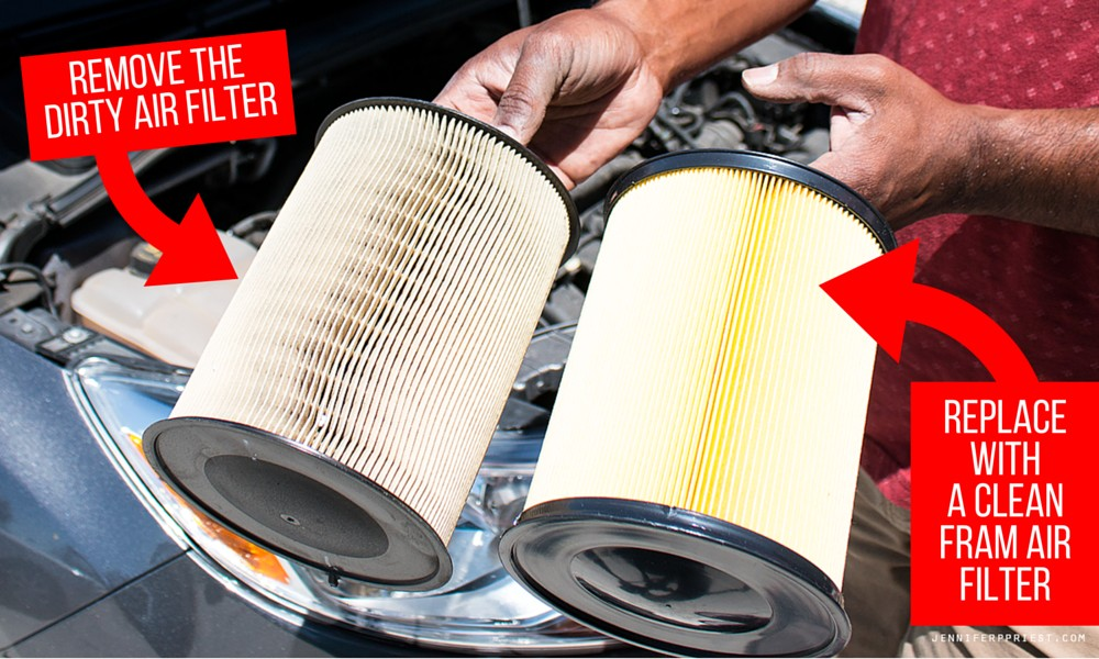Replace with FRAM Air Filter Jenniferppriest