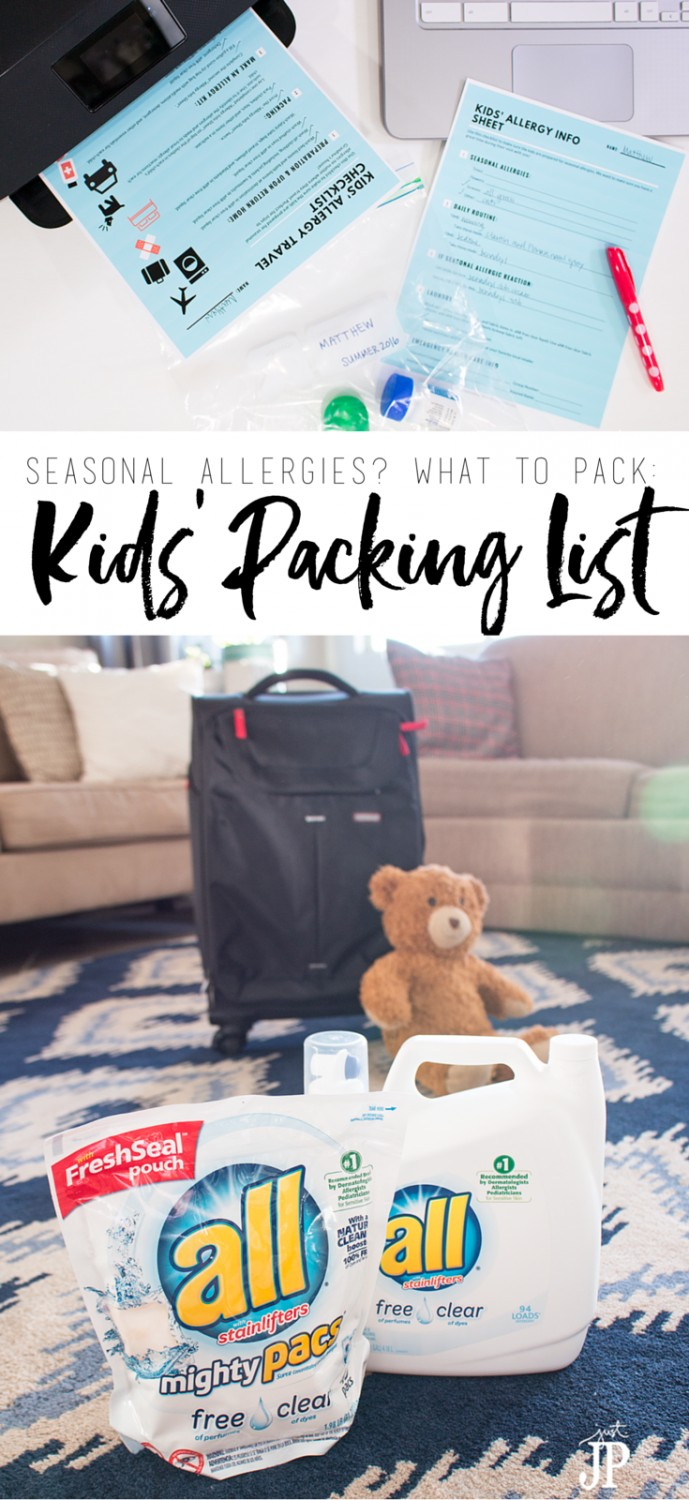 Kids going to Grandma's house this summer? Packing for kids with seasonal allergies can be a challenge. Get this FREE printable checklist so you and Grandma can be prepared for the kids to visit with little worry about seasonal allergy attacks. Travel packing list for kids with seasonal allergies ‪#‎FreeToBe‬ ⋆ just jp http://buff.ly/28HtmGD [ad]
