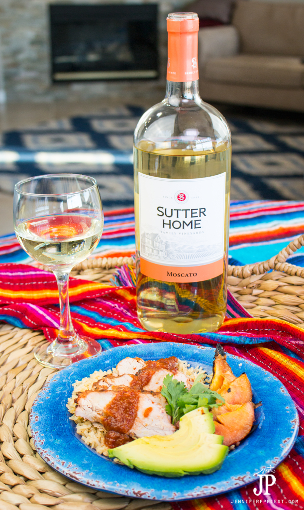 Pair your favorite grilled recipes with Sutter Home Moscato this summer. Perfect with this grilled Chamoy Pork Loin recipe from Xaver Priest for jenniferppriest.com