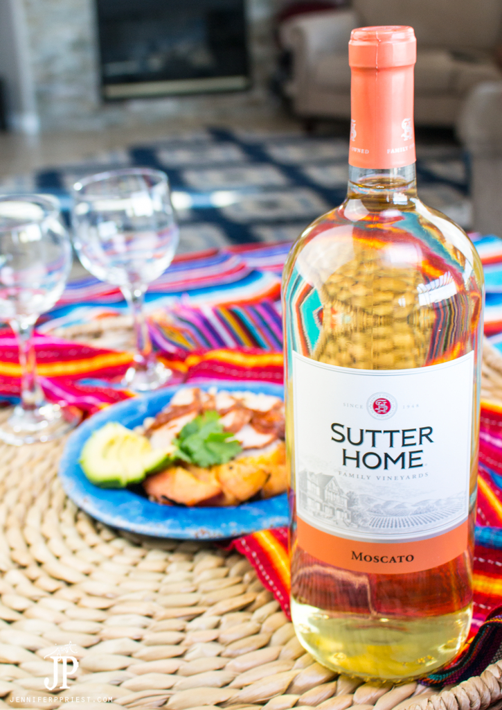 Need new grilling recipes this summer? Try this YUMMY Chamoy Pork Loin recipe from Xaver Priest for jenniferppriest.com - PAIR with Sutter Home Moscato for an upscale barbecue!