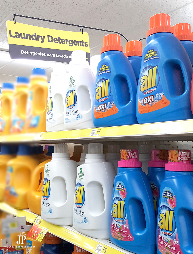 Get All Tropical Mist detergent at Dollar General Stores