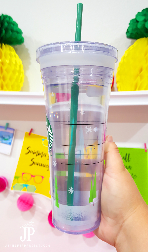 Fill reusable cups at our favorite fast food places or with water to reduce waste and help fill the dishwasher each night.