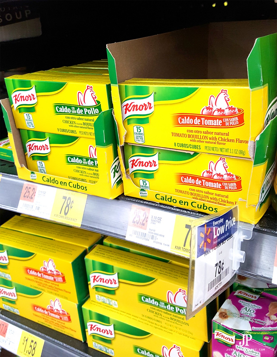 Get Knorr bouillon in Walmart and make your favorite mexican food dishes even more flavorful!