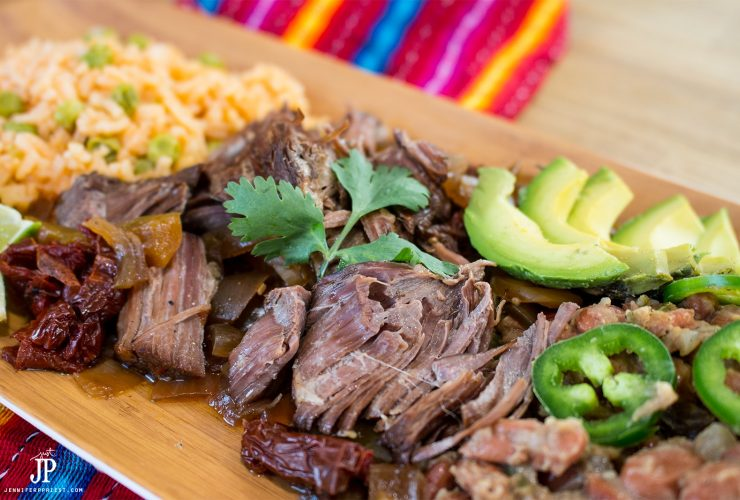 Slow Cooker Mexican Pot Roast with Knorr #SaboreaTuVerano