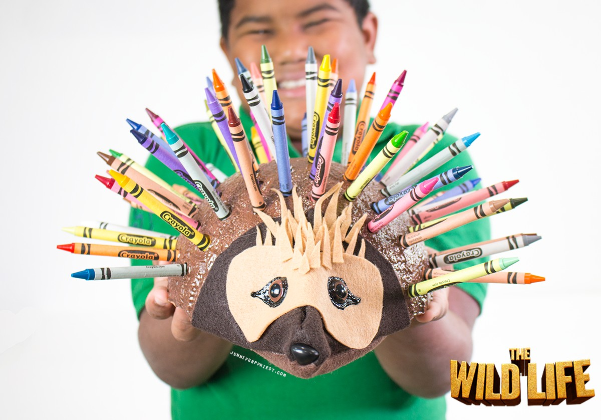 Epi-Echidna-DIY-Crayon-Holder-The-Wild-Life-movie-jenniferppriest