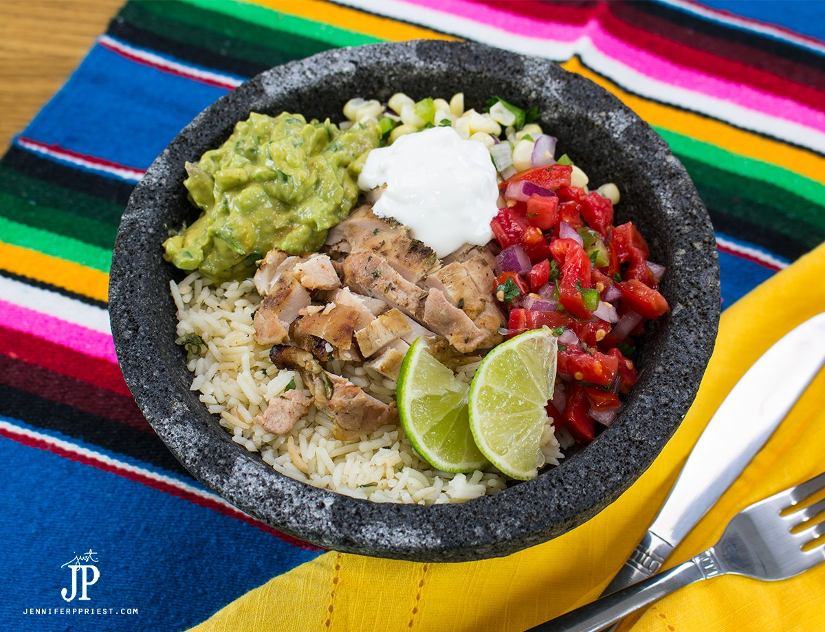 Healthy Diy Chicken Burrito Bowl Make It At Home! Healthy Burrito Bowl Plus  Creamy