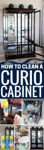 #PledgeReflectionOfYou [AD] How to clean: Curio Cabinet - curio cabinets can be modern and a source of pride in your home. See how to use Pledge® Multi Surface to clean curio cabinet by Jennifer Priest http://www.jenniferppriest.com/how-to-clean-curio-cabinet/