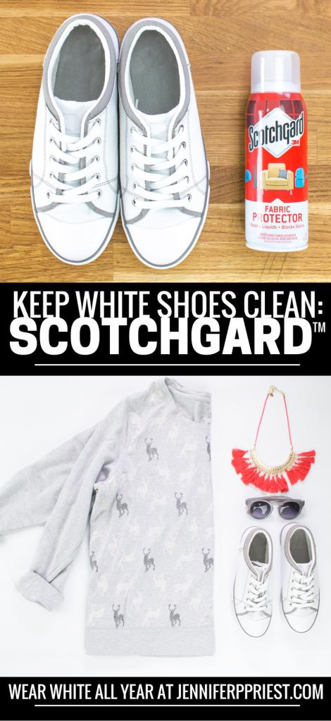 Can You Put Scotchgard On White Shoes