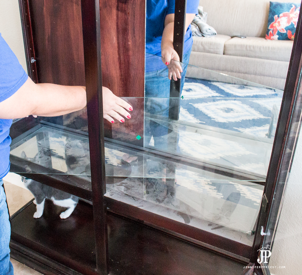 clean-curio-cabinet-remove-all-of-the-glass-jenniferppriest