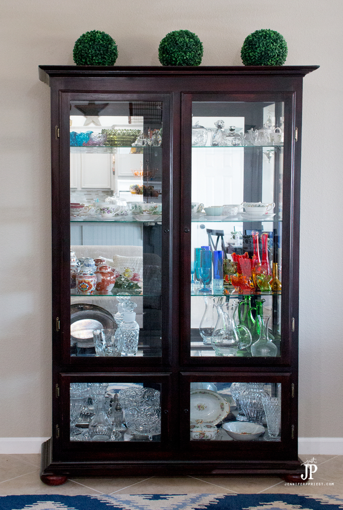 #PledgeReflectionOfYou [AD] How To Clean: Curio Cabinet   Curio Cabinets  Can Be