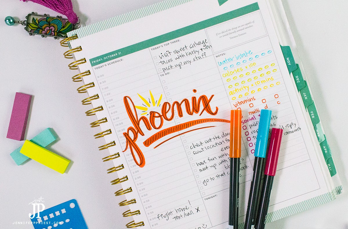 brush-letteing-planner-page-jenniferppriest