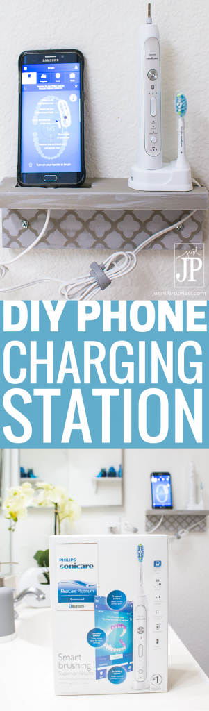 Diy phone charging station for bathroom brushingevolvedtarget collectivebias ad make a diy phone charging station with scrap wood to fandeluxe Choice Image