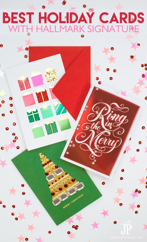No Ordinary Holiday Card - Why I am sending Hallmark Signature cards