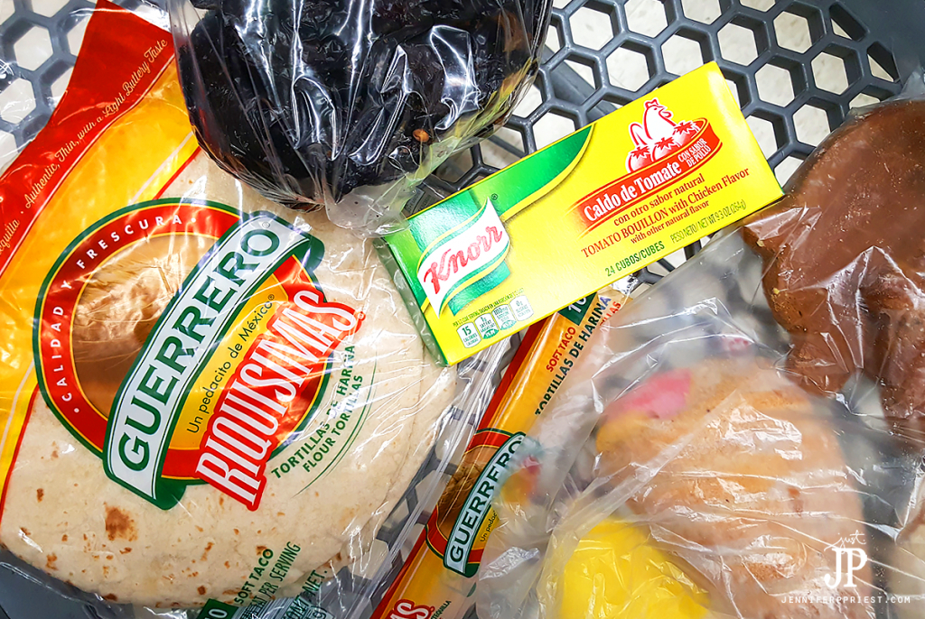 Free tortillas in Northgate Market with purchase of Knorr Bouillon