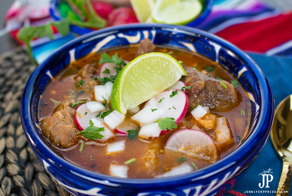 The best way to stay warm on days like this is with a hot bowl of hearty pozole. We keep it simmering on the stove so we can savor it all day long. I keep sliced radishes, chopped onions, crushed herbs, and lime wedges in the fridge to add crunch and a fresh flavor that feels like summer. This recipe comes together fast with pantry staples, like @Knorr Knorr® Tomato Bouillon with Chicken flavor. Get the recipe at http://lbx.la/TPrH (clickable link in profile) and warm up with pozole in less than an hour. PLUS, get a peek inside Northgate Market! #sponsored #KnorrCelebrations #Liveforflavor
