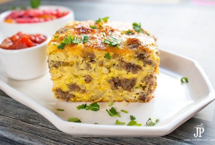 Sausage Bake – Easy Breakfast Casserole Recipe