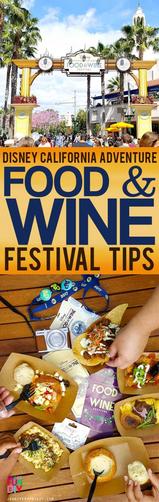 Disney California Adventure Food & Wine Festival - Review, tips for Annual Passholders AND day trippers, PLUS a look at this year's food offerings.