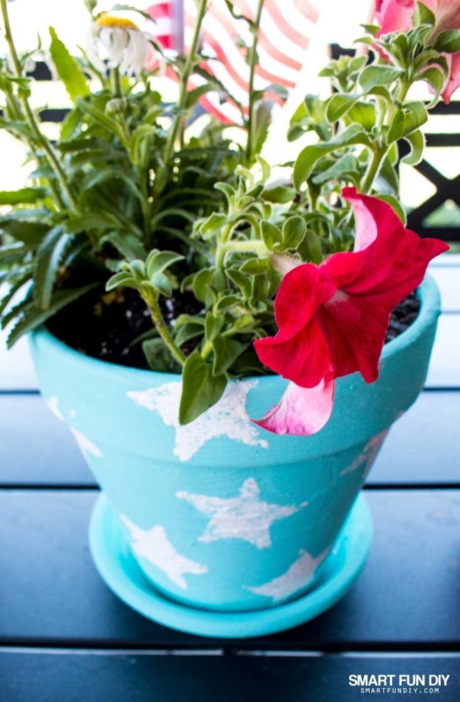 4th Of July Diy Terra Cotta Pot Ideas On A Budget