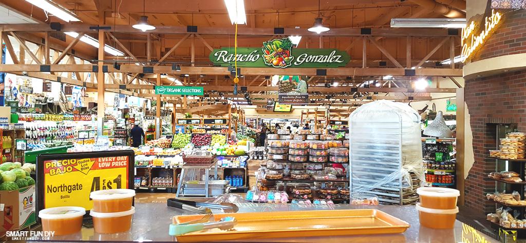 Rancho Gonzalez produce section in Gonzalez Northgate Market