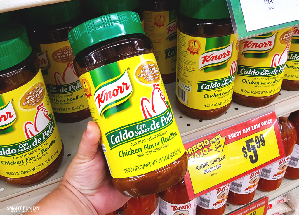 Knorr® Chicken Flavor Bouillon (Caldo Con Sabor De Pollo)