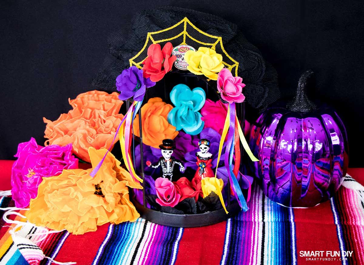 Diy Dia De Los Muertos Shrine For Under 10