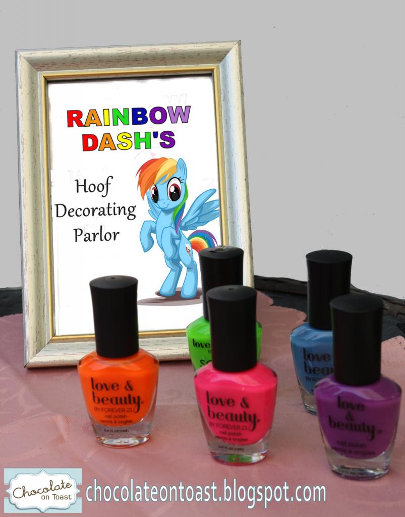 My Little Pony Party Ideas - Smart Fun DIY