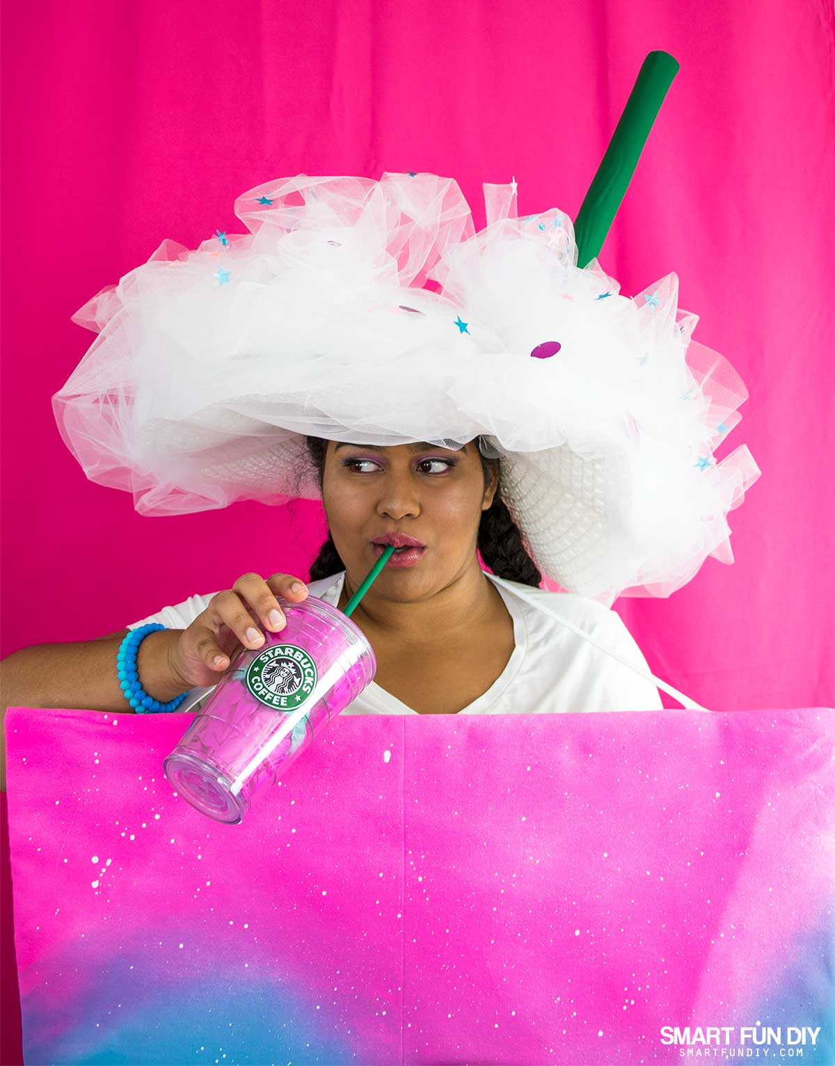 Diy unicorn frappuccino costume solutioingenieria Choice Image